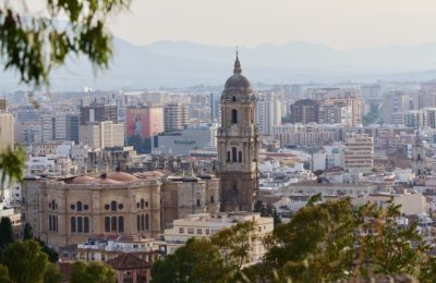 The Beautiful City Of Malaga, Spain