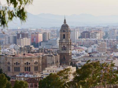 The Beautiful City Of Malaga, Spain
