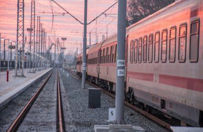 Train In Europe