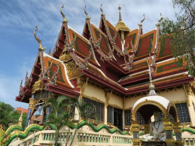 A Temple In Koh Samui, Thailand